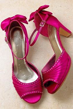 Fuschia Wedding Shoes Bridesmaid S Herecomesthes Co Uk
