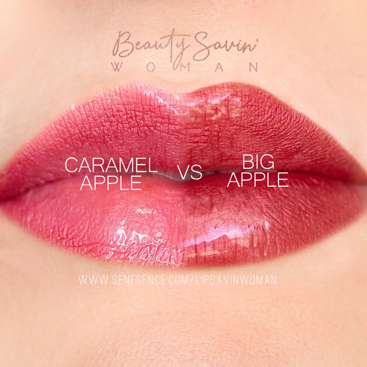 Caramel Apple vs Big Apple in 2020 Senegence makeup
