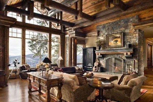 Moderne deko trends rustikale einrichtung mit das for Wohnzimmer deko rustikal