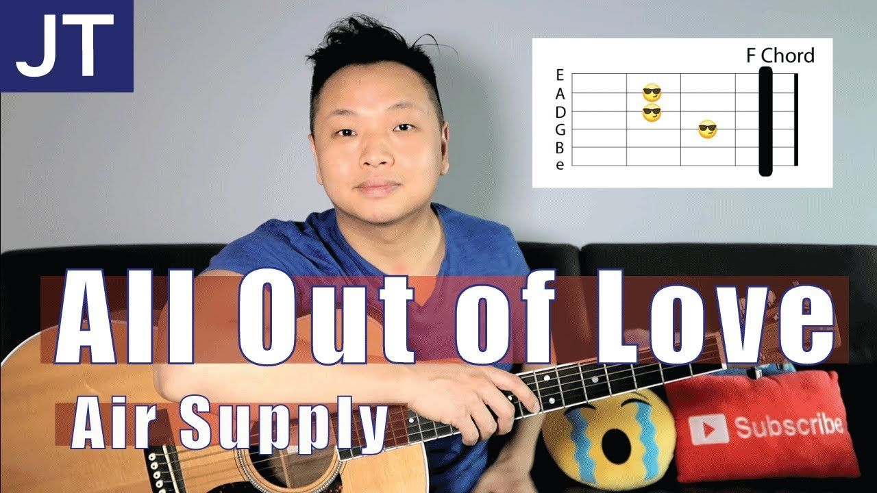 All Out Of Love Air Supply Guitar Lesson Guitar Tutorial Guitar Lessons Dido