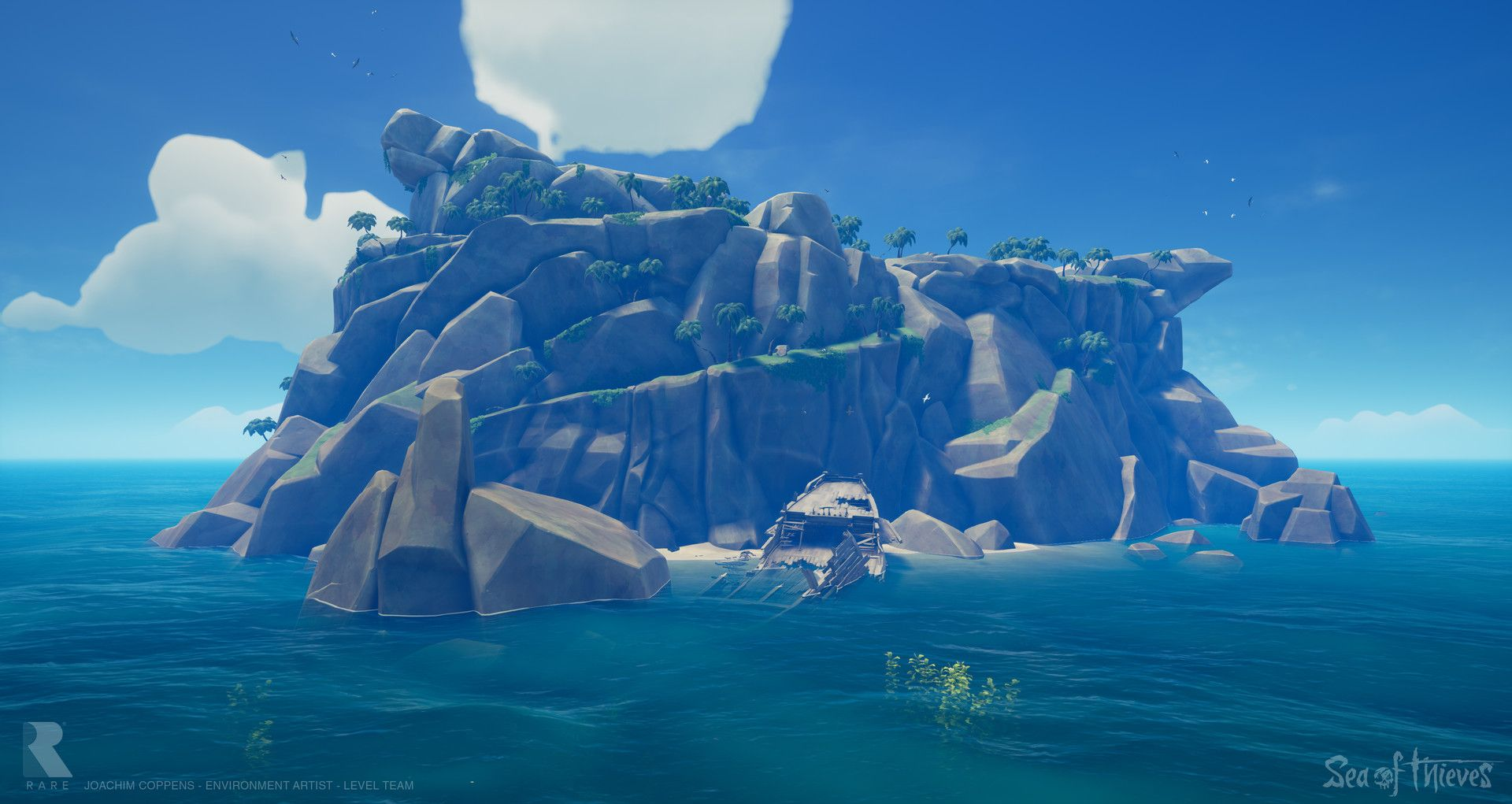 ArtStation - Sea of Thieves: The Ancient Isles, Joachim Coppens