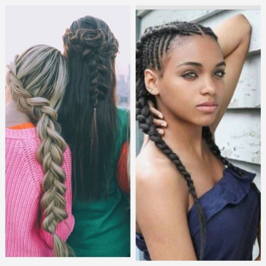 Braid Hairstyles Simple Braided Hairstyles For Black Teenage Girls Teenage Hairstyles Easy Hairstyles Braided Hairstyles Easy