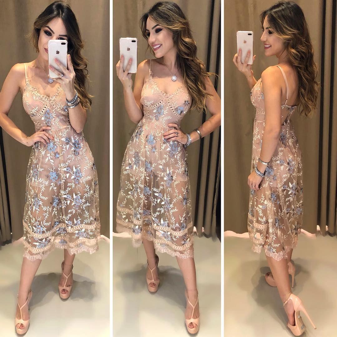 Que perfeiÇÃo sem palavras para descrever o que é esse vestido