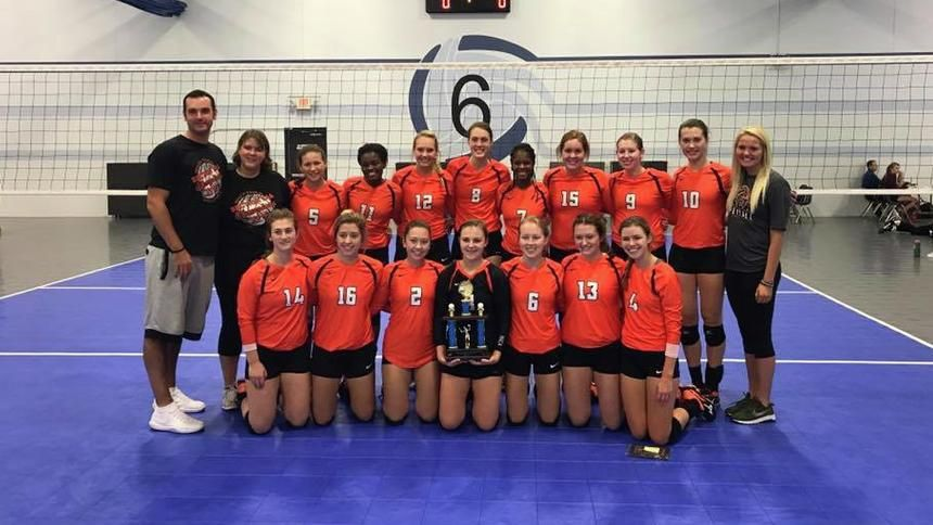 The Morris C A Volleyball Team Holds The Third Place Trophy After Defeating Belle Plaine 2 0 Saturday Sept 23 At The Cl Burnsville Volleyball Team Volleyball