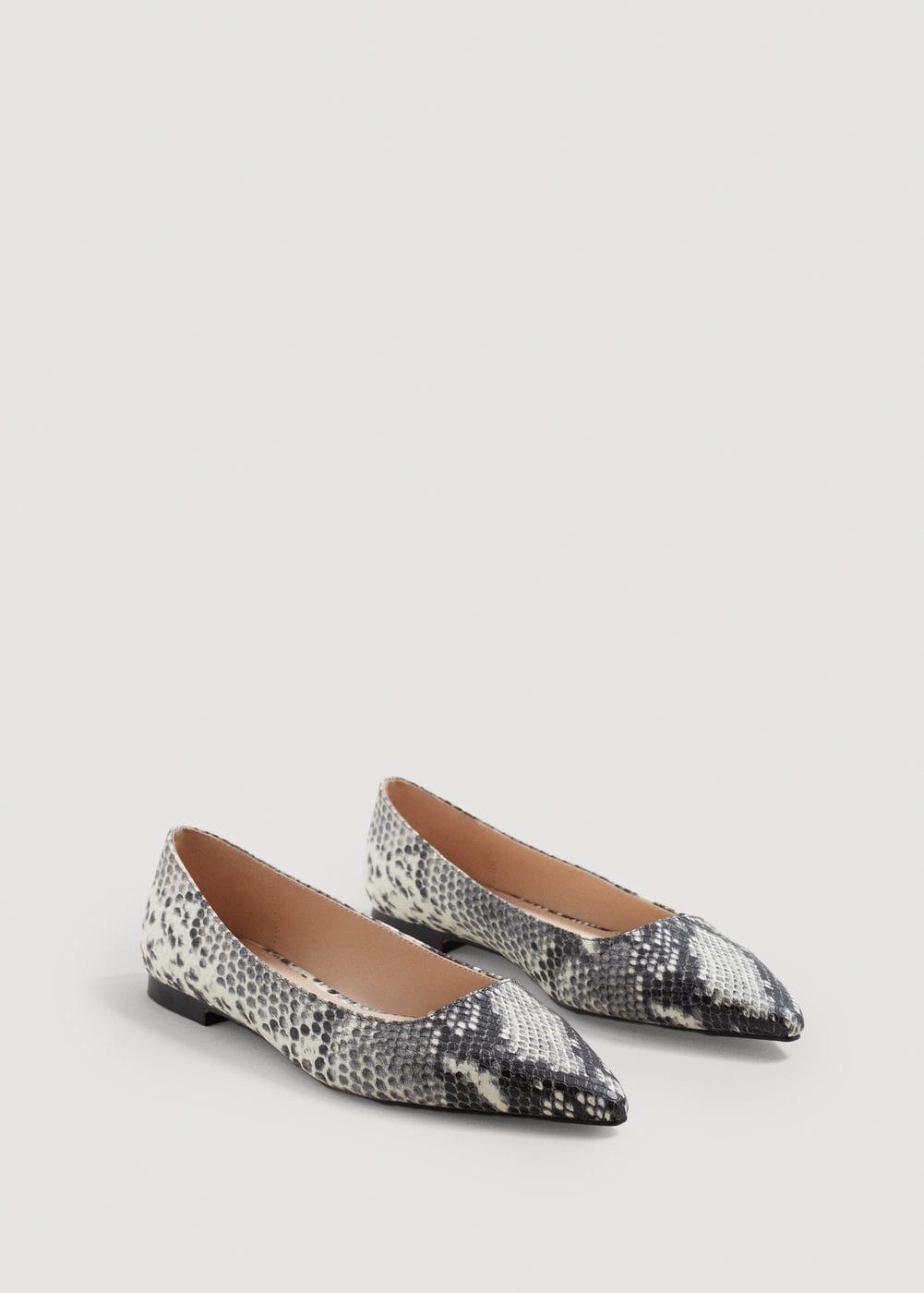 1ea4fac9 Zapato plano efecto serpiente - Zapatos de Mujer en 2019 | Compras ...