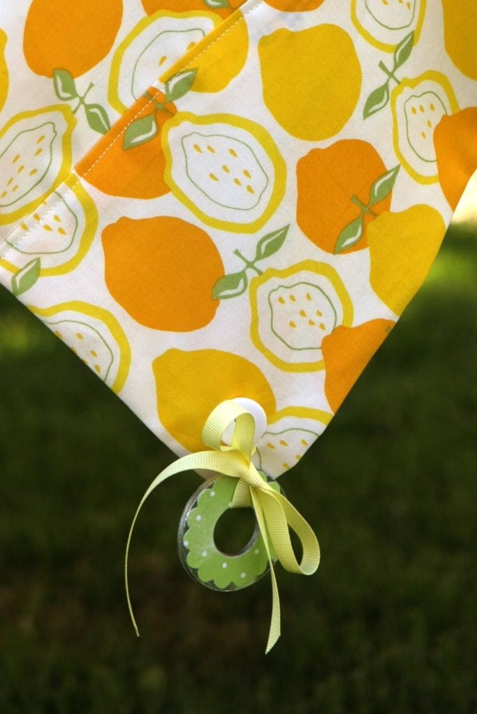 Cute Easy Way To Weigh Down Table Cloths Outdoors