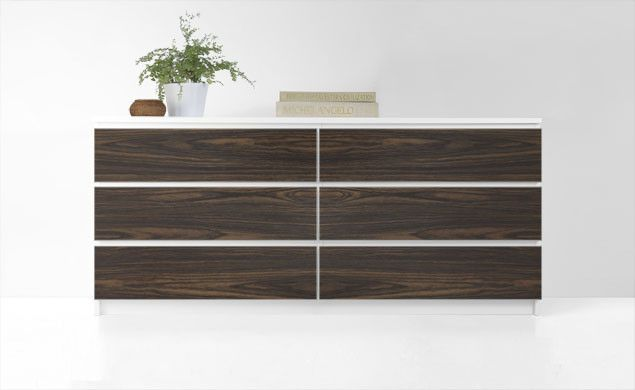 PANYL Drawer Fronts Used To Customize Ikea Furniture. Woodgrain Would Be  Awesome For Bedroom Dresser