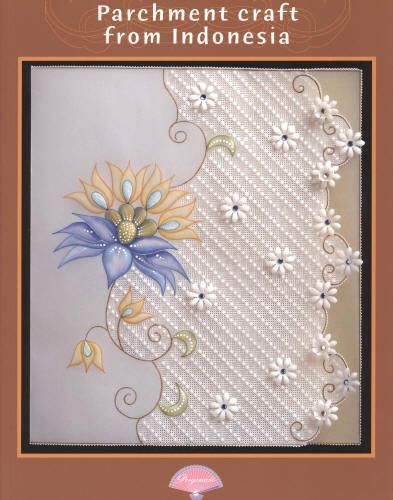 Image Detail For Perg97351bk Pergamano Book Parchment Craft From