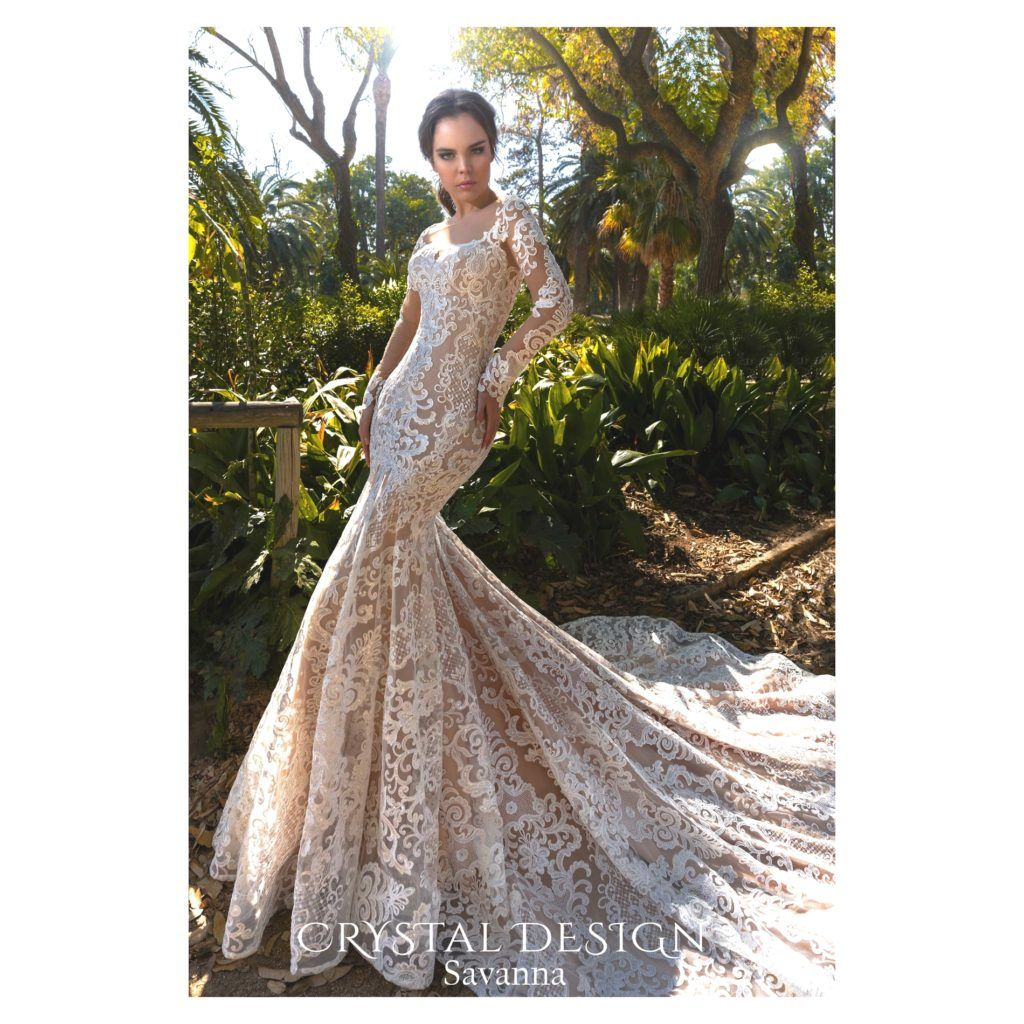 Crystal Design Savanna - The Blushing Bride boutique in Frisco ...