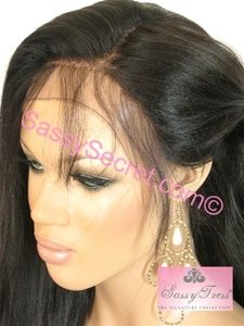 Glueless Lace Wigs • 100% Indian Remy Hair • Full Lace Cap Designed to be  worn without glue • 100% hand tied so wig can be parted anywhere •  Adjustable ... 0f75ddca8