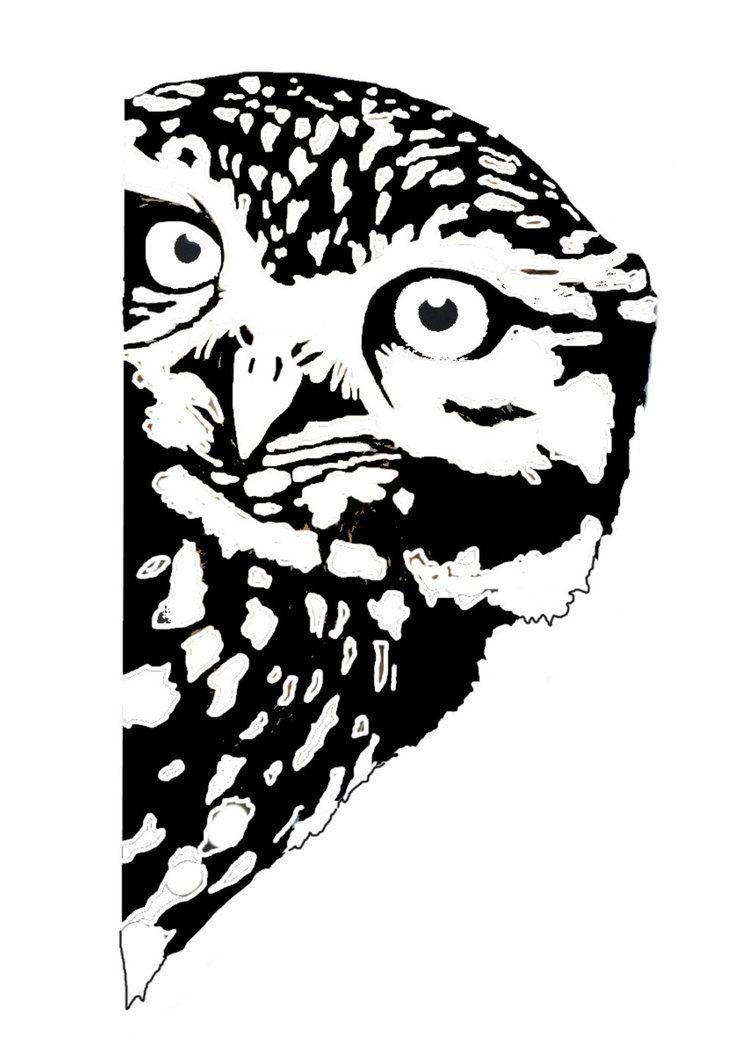 Stencils of owls 35