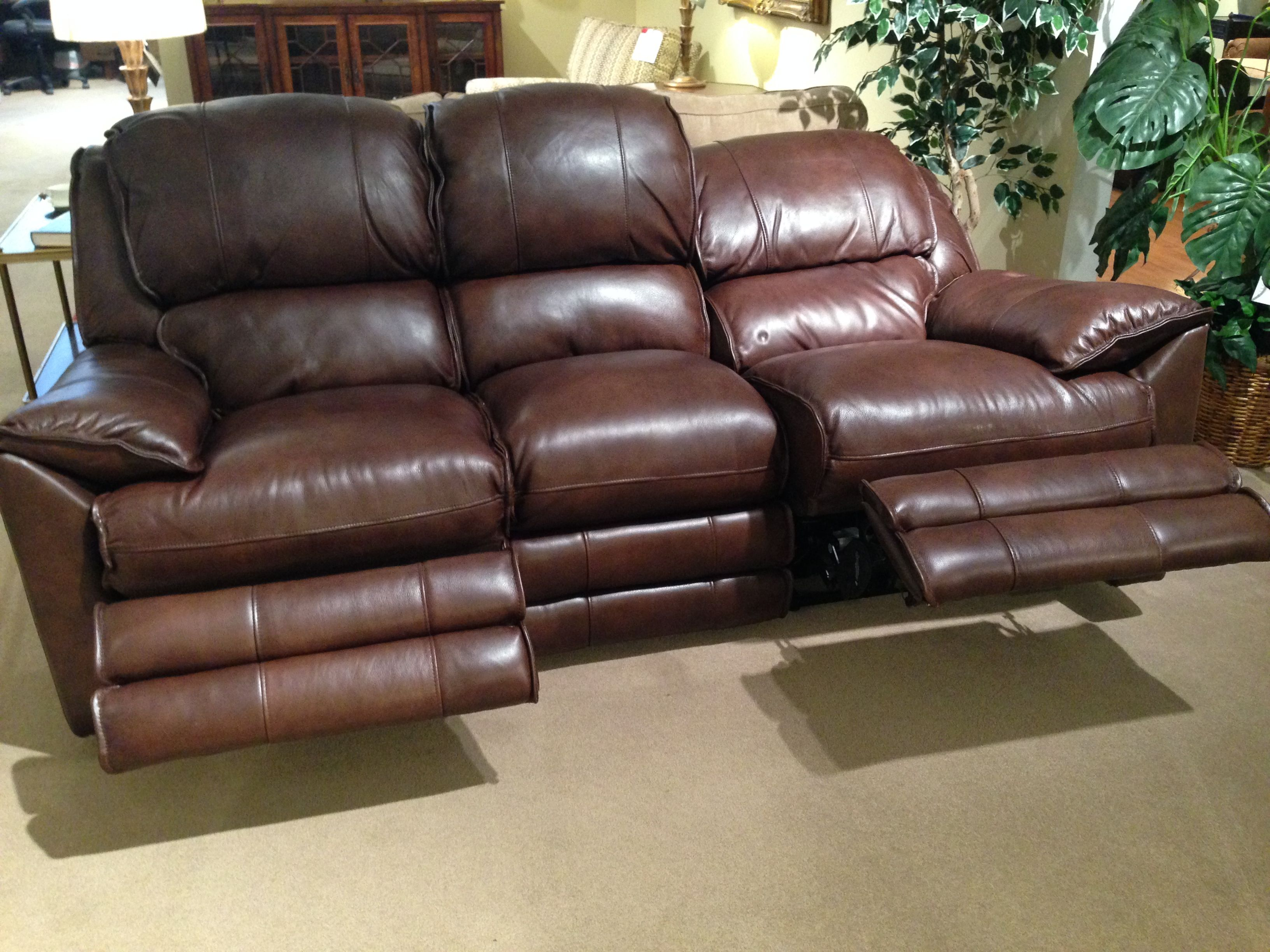 Leather Recliner Sofa Red Color Furniture Pinterest