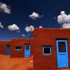 Three door of Taos, NM. (© Christian von Schleicher)