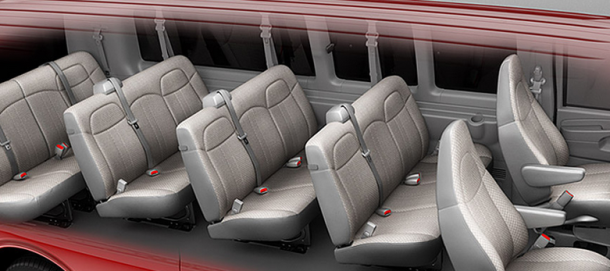2016 Chevy Express Passenger Van