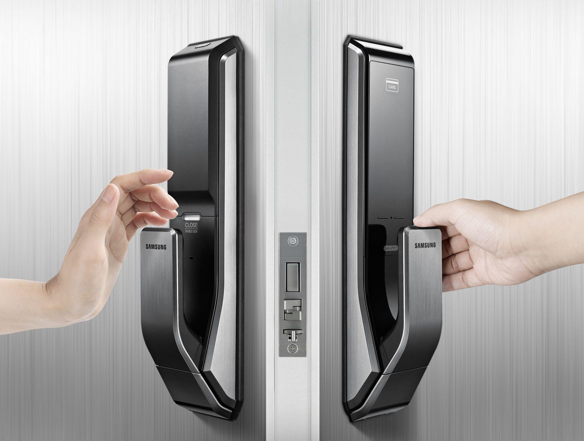 Intelligent Door System Digital Doorlock Beitragsdetails If Online Exhibition Home Security Systems Smart Door Locks Home Security