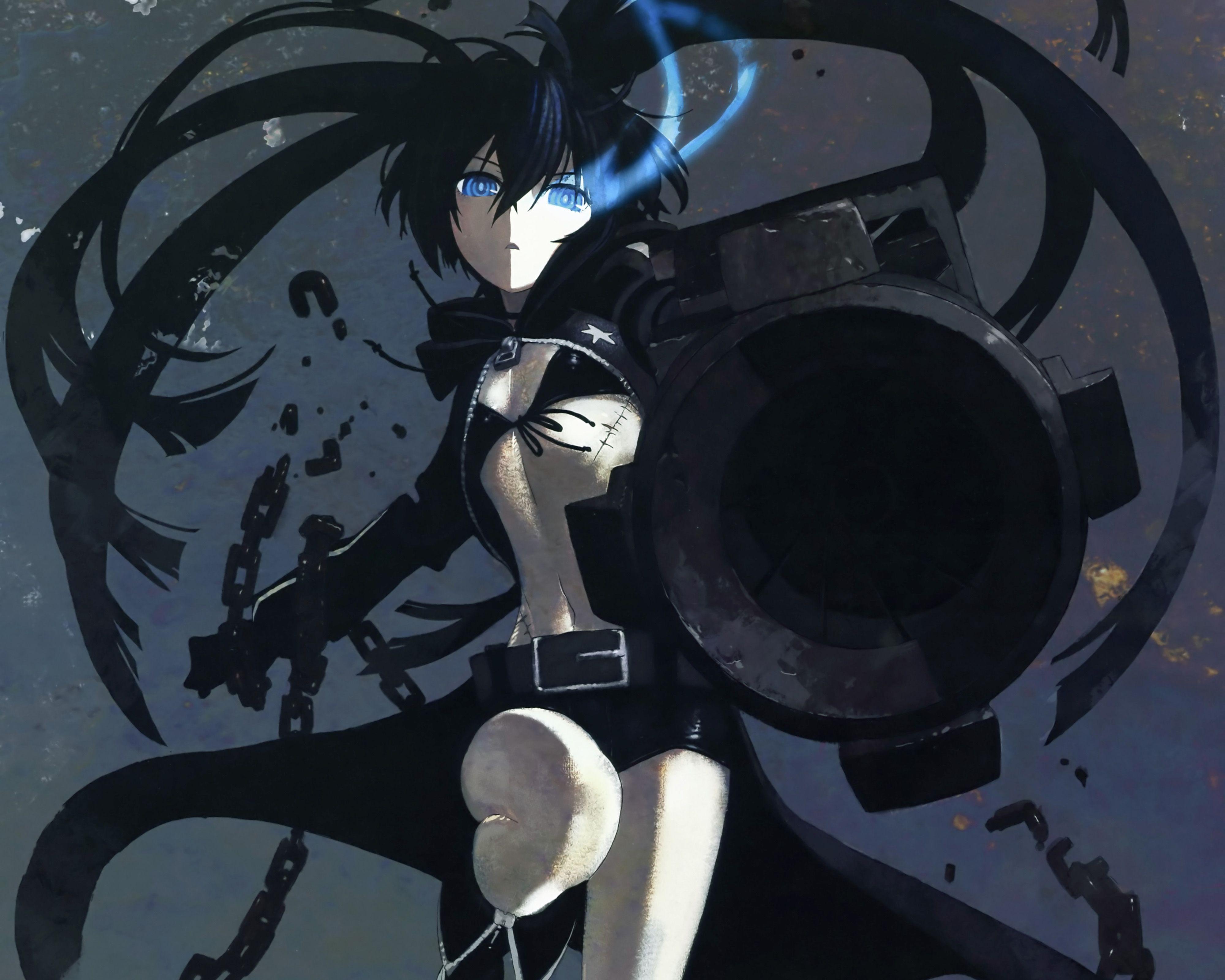 Anime Black Rock Shooter Wallpaper Black rock shooter