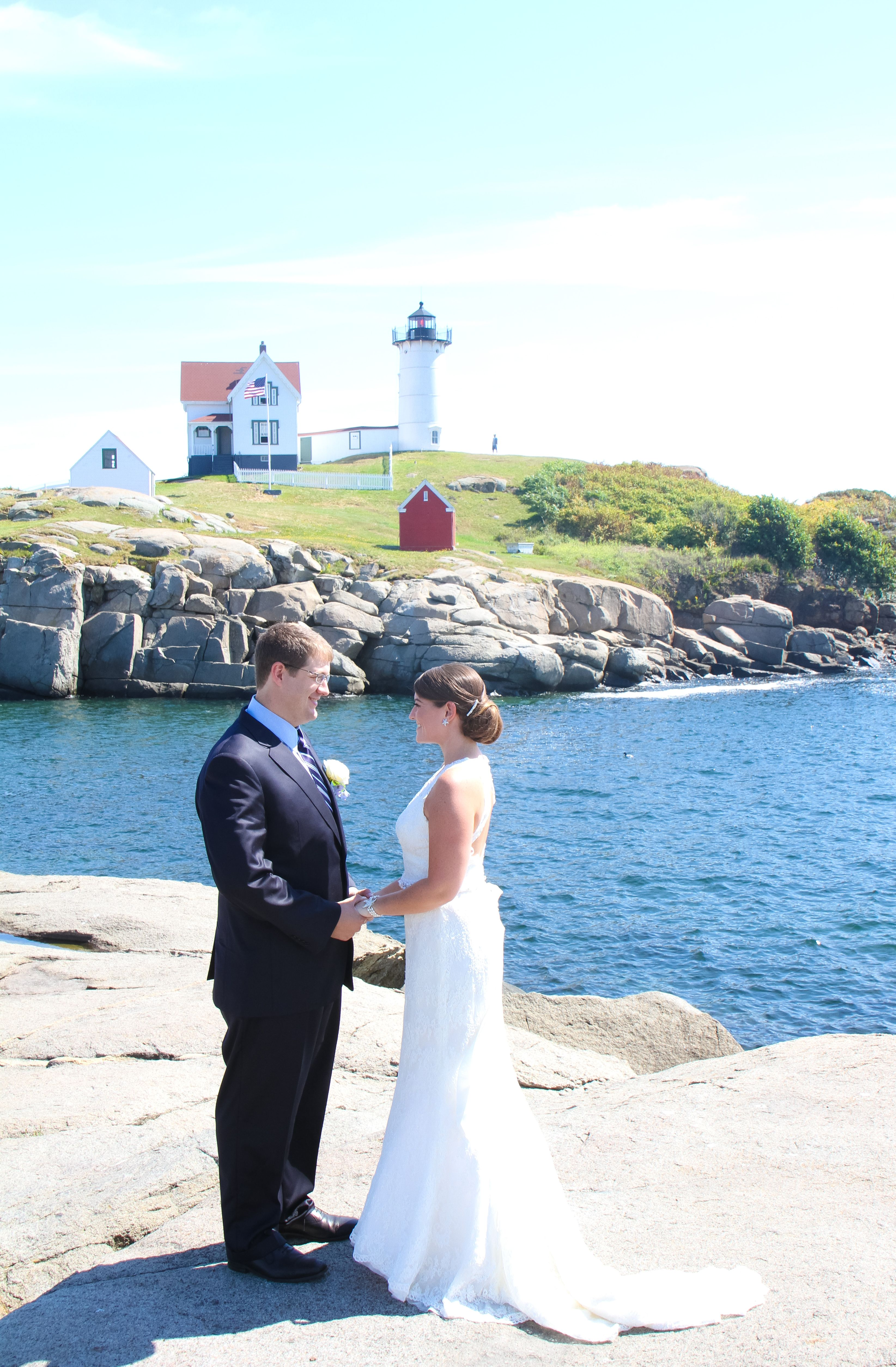 A Clic Waterfront Wedding At The Dockside Guest Quarters And Restaurant In York Maine