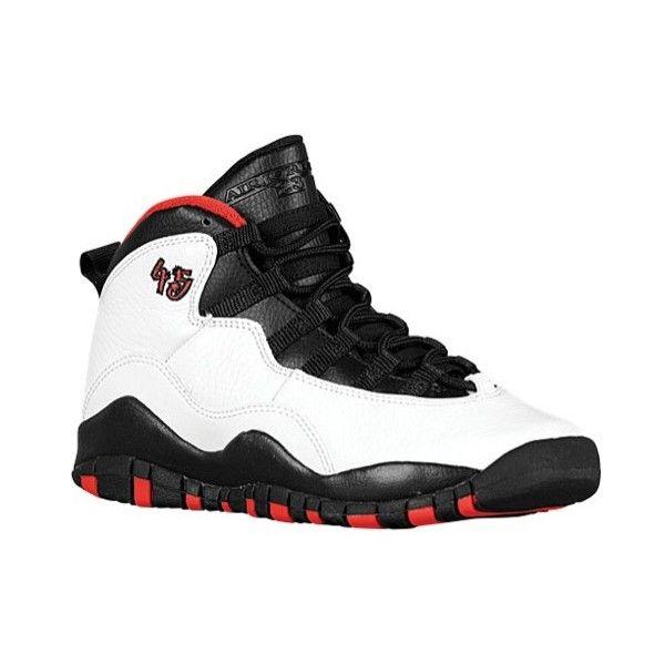 991637c9f099 Jordan Retro 10 Boys  Grade School ( 140) ❤ liked on Polyvore featuring  shoes