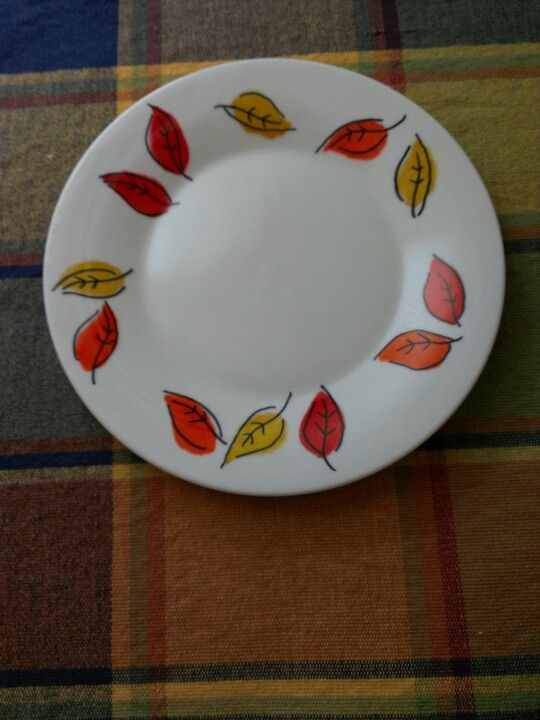Dollar store plate decorated with Sharpie markers baked in 300 degree oven for 30 minutes & Dollar store plate decorated with Sharpie markers baked in 300 ...