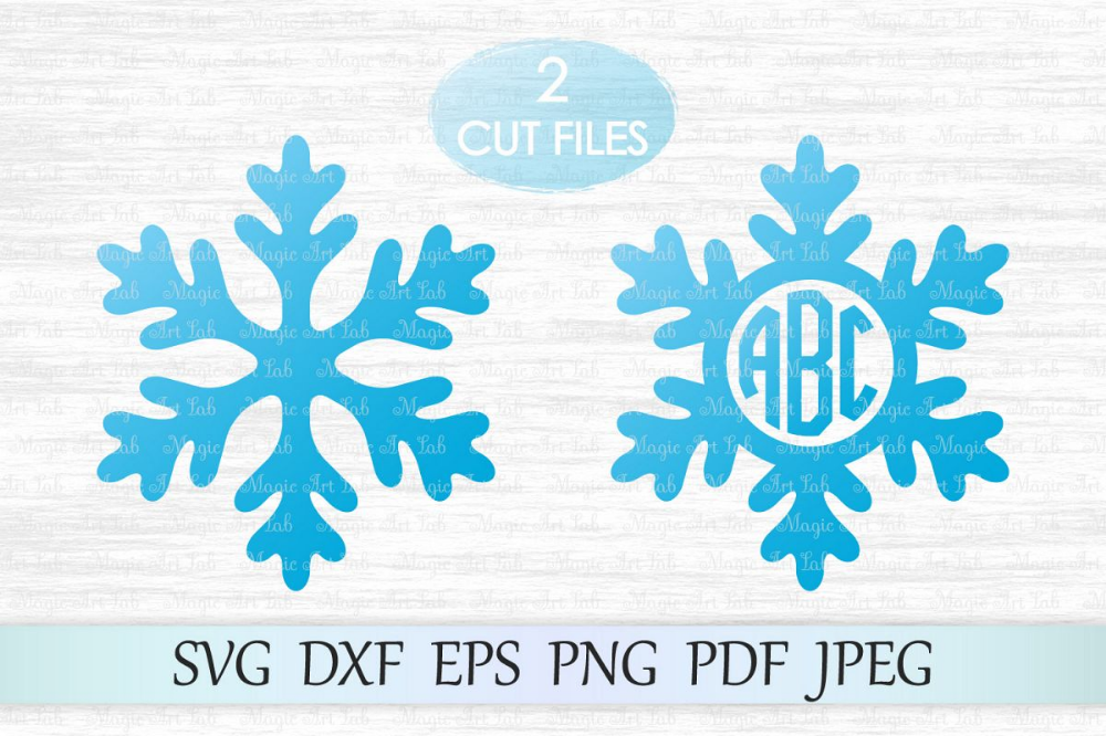 Snowflake Christmas design background vector free image