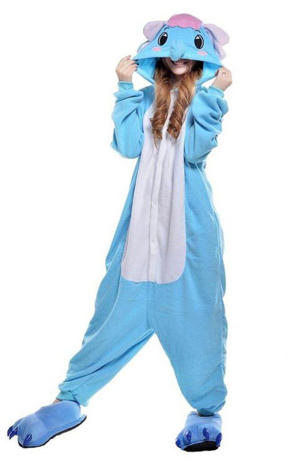 Castle Fairy Adult Unisex Kangaroo Pajamas Animal Halloween Onesie Cosplay  Costume With Shoes XL    fd5994201b