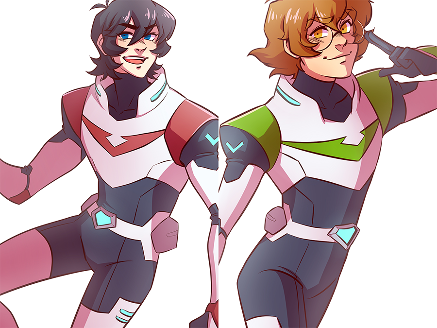 Keith and Pidge