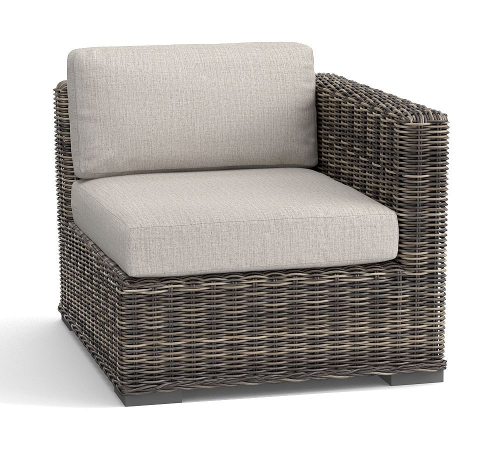 Huntington Square Arm Sunbrella Outdoor Furniture Cushion