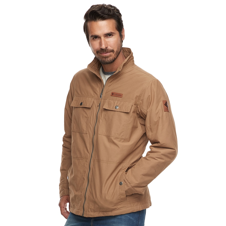 Big & Tall Columbia Wheeler Lodge Casual Jacket Produkter  Products