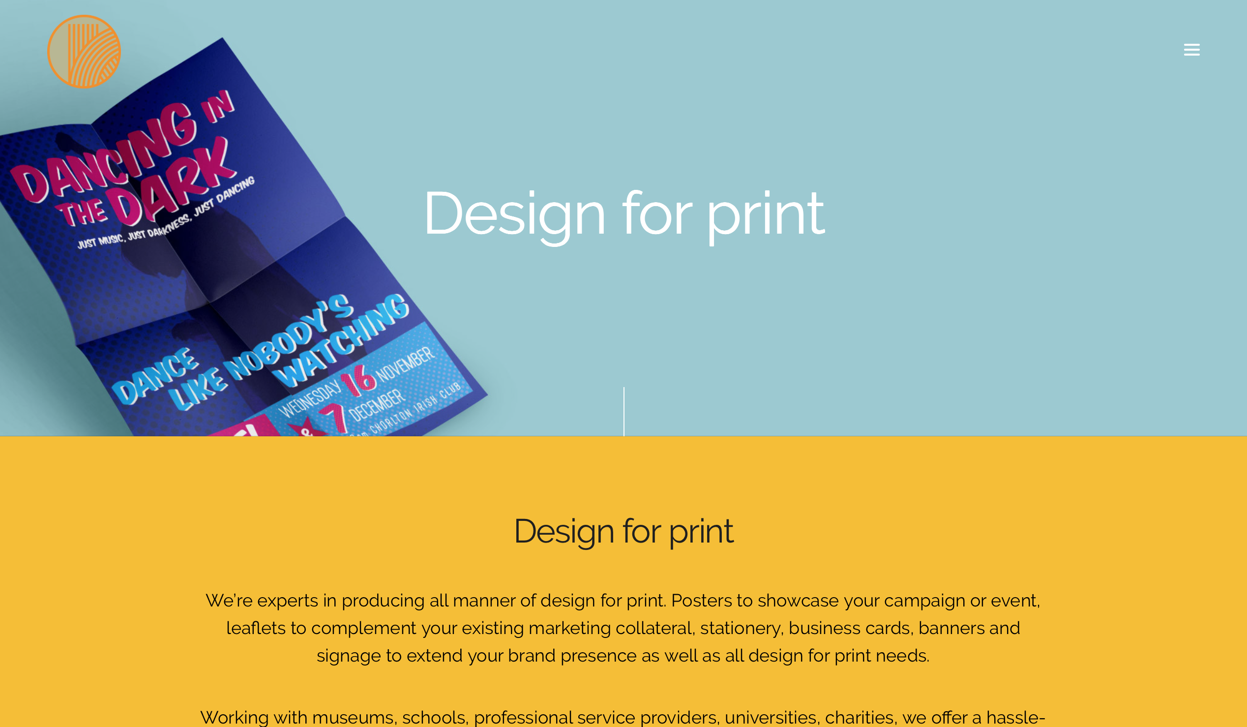 Design for print is one of our core services brochures leaflets brochures fandeluxe Image collections