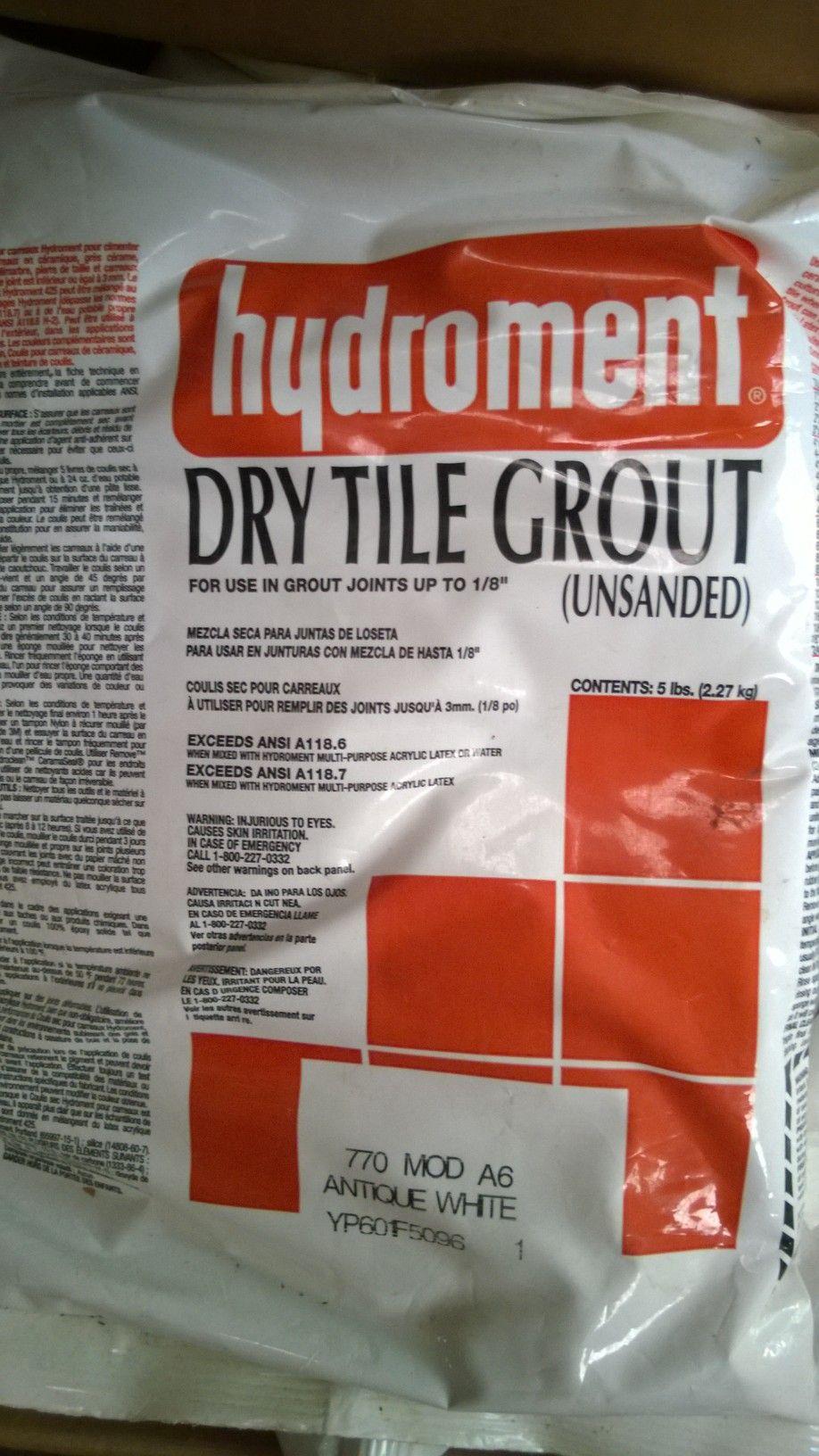 Hydroment Dry Tile Grout Diydrysite
