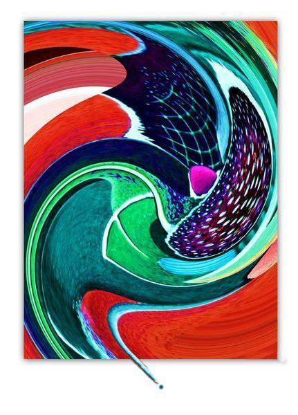 'Abstraktes' von Gertrude  Scheffler bei artflakes.com als Poster oder Kunstdruck $18.71
