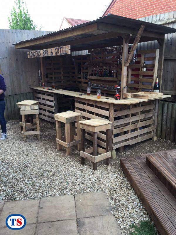Tool Station Shared This I Love It Pallet Bar Diy Pallet Furniture Outdoor Pallet Outdoor