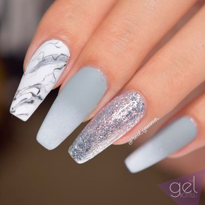 Nail Art Trends for a Coffin Nail Shape