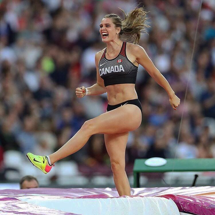 Pin by Triine-Marie Land on TRACK & FIELD | Alysha newman ...