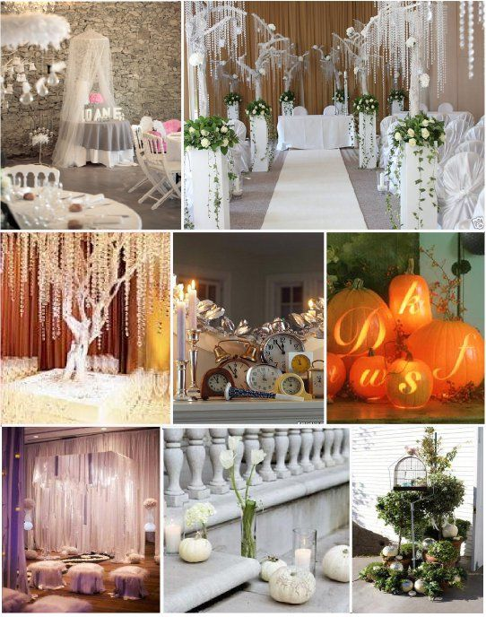 mariage contes de fee decoration salle | Décoration de salle ...