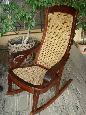 Vendo sillas mecedoras villa nueva muebles produtos for Mecedora de madera