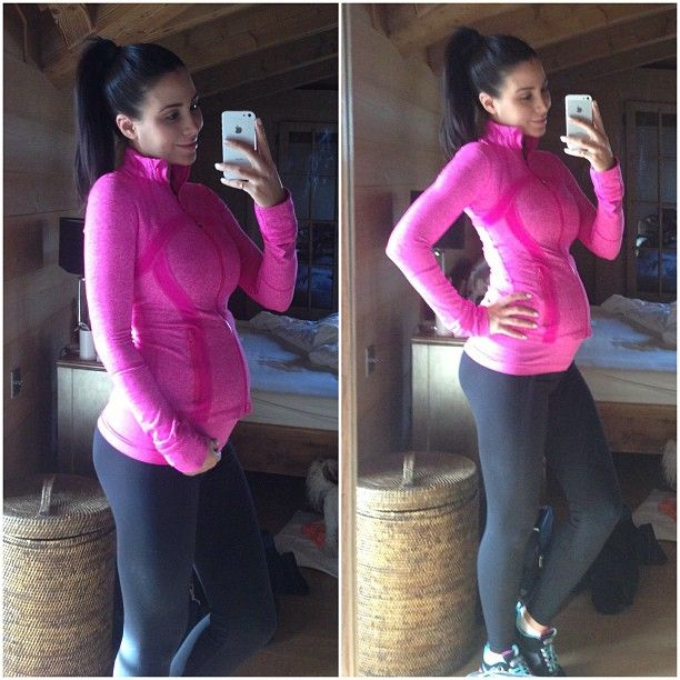 four month old pregnant jenniferstano 4 months today 5 more months to go going this