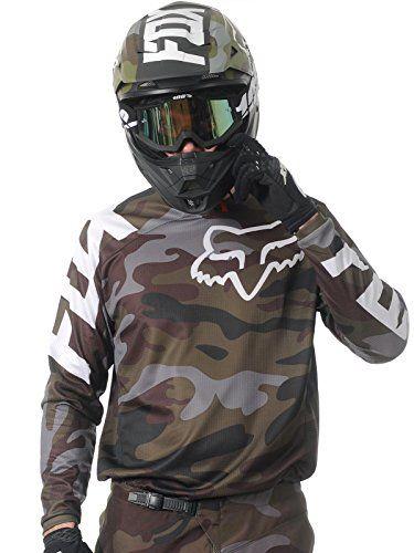 Fox Racing 180 Camo Men s Off-Road Motorcycle Jerseys - Green Camo   Medium  Fox 18863ad23