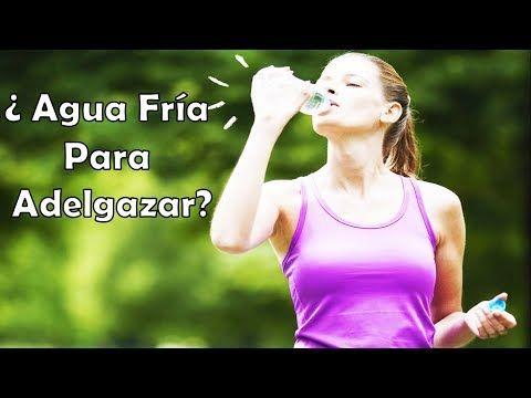 Perder agua peso fria