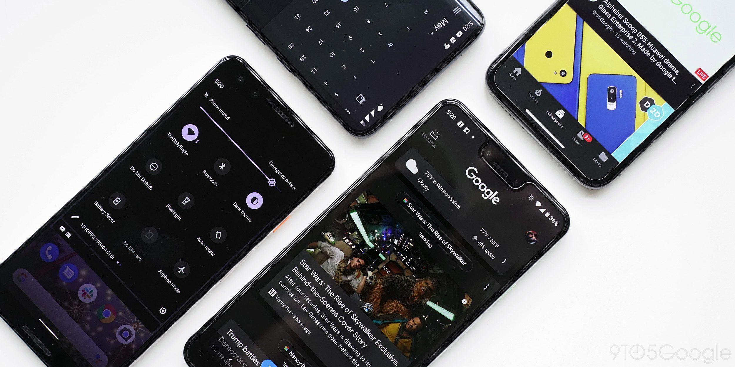 Google Dark Mode app roundup Everything available so far