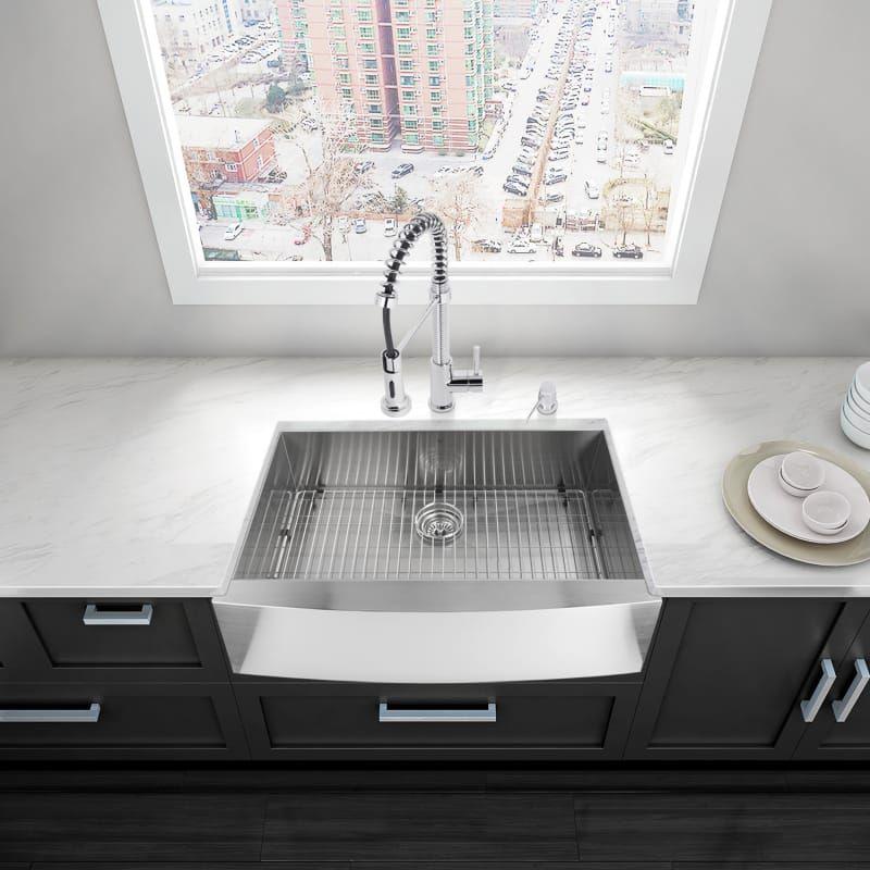 20+ Vigo farmhouse sink 33 stainless steel type