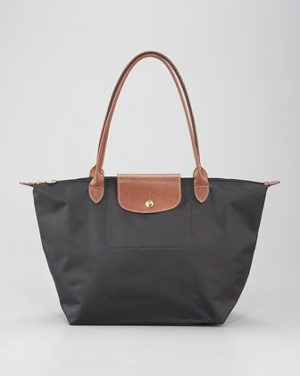 b97f357d70 On my shopping list - a Longchamp bag in black, navy, or graphite! Le Pliage  Large Shoulder Tote Bag, Classic Colors by Longchamp at Neiman Marcus.