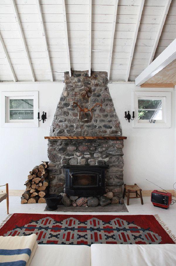 Traditional Interior Fireplaces Con Imagenes Decoracion