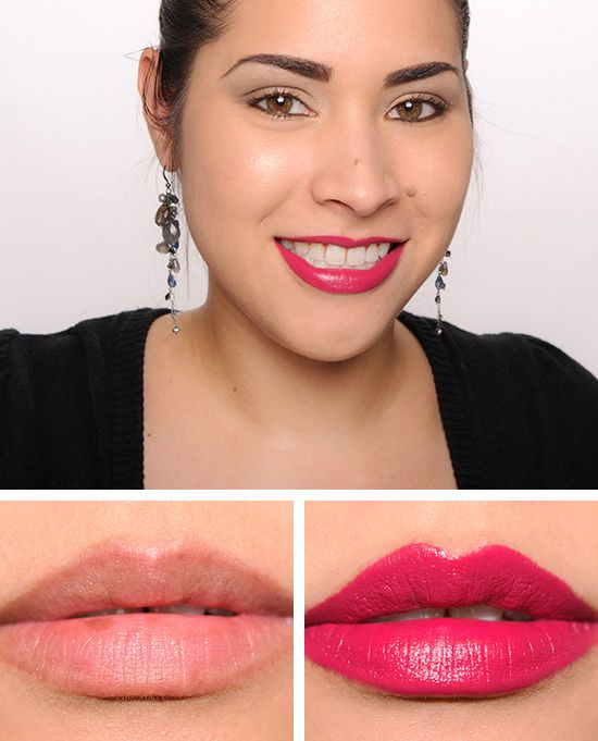 Givenchy rose plumetis framboise velours le rouge lipsticks reviews photos swatches makeup for Givenchy rouge miroir lipstick