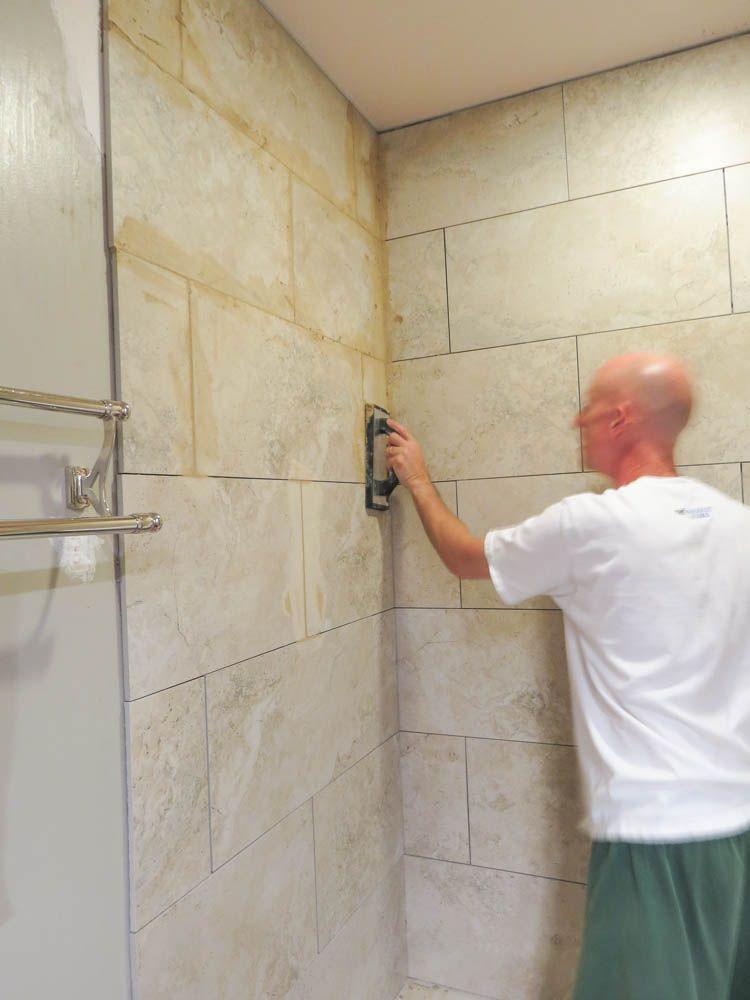 How To Install Bathroom Wall Tiles Bathroom Wall Tile Small Bathroom Makeover Diy Bathroom Makeover