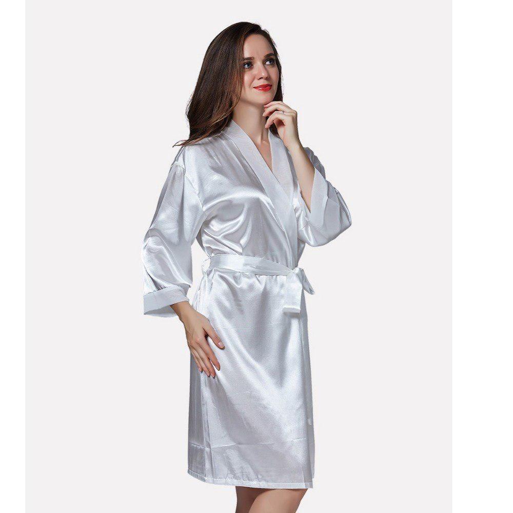 d6b2c8834a Robe Kimono bridesmaid robes Muslin Bathrobe women Pajamas Silk gowns
