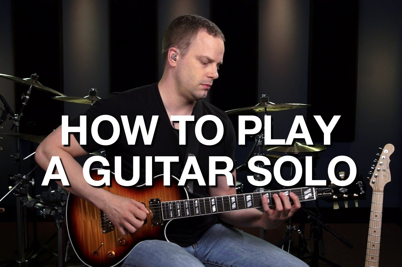 How To Play A Guitar Solo Lead Guitar Lesson 9 Guitar