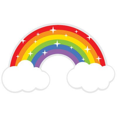 rainbow clipart 1 liked on polyvore featuring backgrounds rh pinterest com Rainbow of Water Clip Art free clipart pictures of rainbows