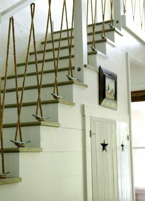 Gelander Selber Bauen Eigenartige Treppengelander Aus Holz Ast