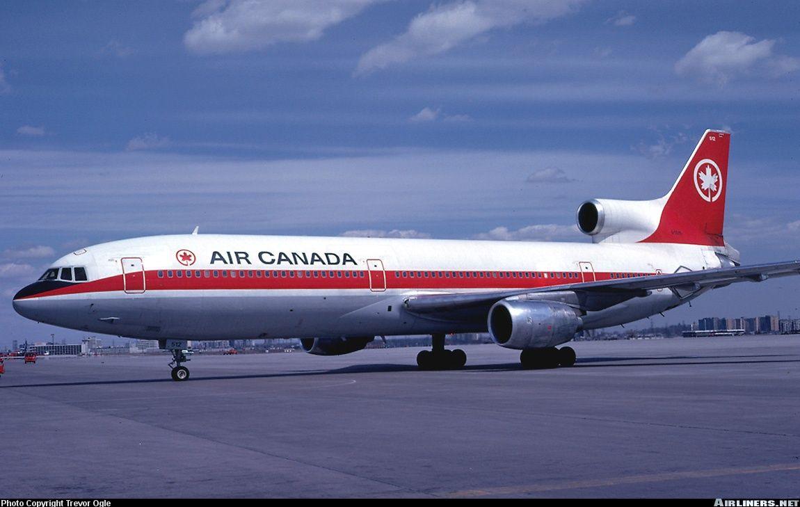 Air Canada Tristar Da C Air Canada Flights Tristar Aviation